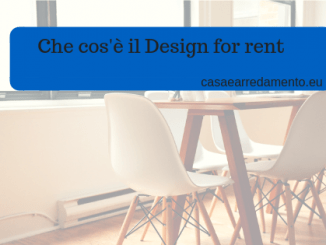 Che cos'è il Design for rent